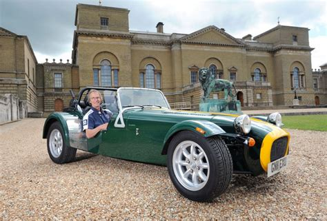caterham club owners club rally for adrian flux