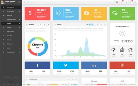 bootstrap templates for examination 23 best web app ui images on pinterest app ui dashboard