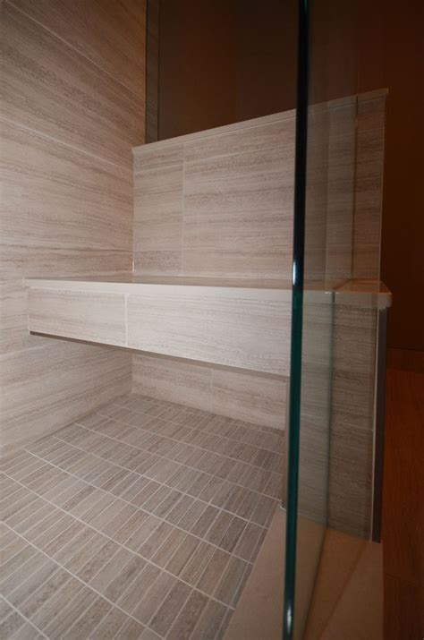 custom shower bench 8 best images about shower benches on pinterest larger decks and outside showers