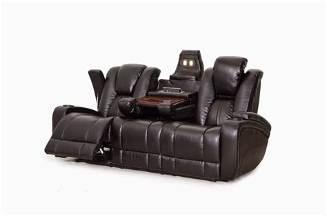 sofa tray with cup holder reclining sofa with cup holders militariart com
