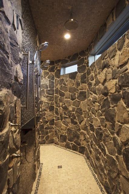 bungalow show home  springbank traditional bathroom