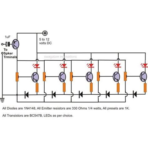 diode cled level hobby electronic circuits led level indicator