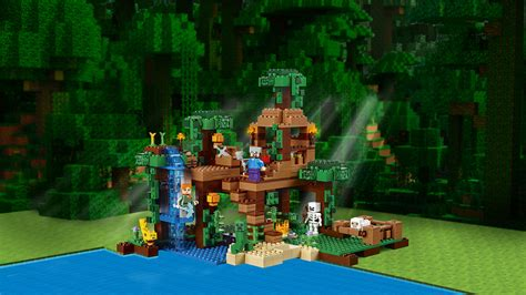 Minecraft Lego House by 21125 The Jungle Tree House Products Minecraft Lego