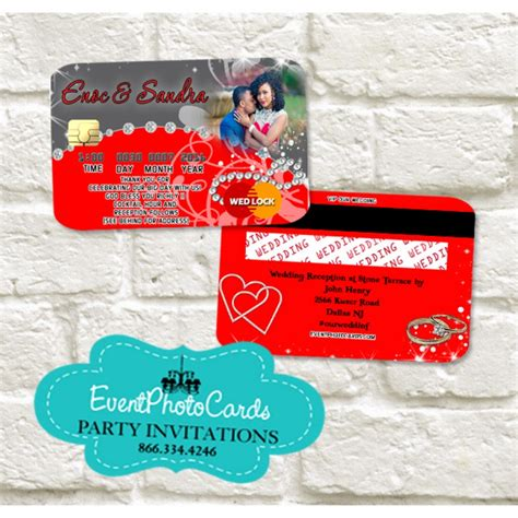 credit card wedding invitation template wedding credit card gray invitations invitaciones de b