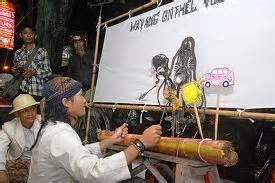 Tas Sepeda Onthel Jogja wayang onthel pelaku kesenianya anak muda riffa