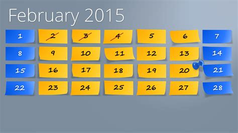 powerpoint template calendar powerpoint calendar the start for 2015