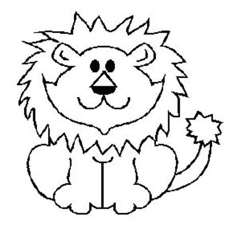 imagenes de leones faciles para dibujar como dibujo un leon imagui