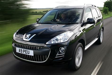 used peugeot prices peugeot 4007 hatchback from 2007 used prices parkers