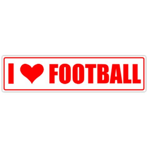 I Love Football Street Sign I Heart Street Sign Templates Design Templates Yard Signs Football Yard Sign Template