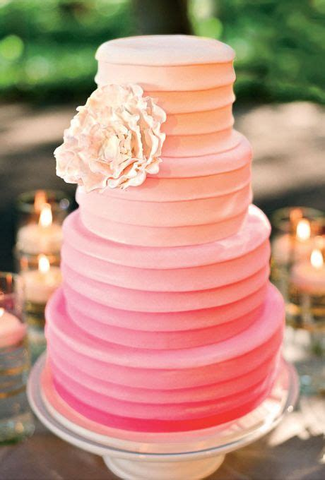 Hochzeitstorte Ombre by 26 Oh So Pretty Ombre Wedding Cake Ideas