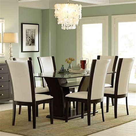 Rectangle Glass Dining Room Tables by Rectangular Glass Top Dining Table Ideas Casa