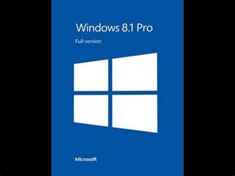 youtube tutorial windows 8 1 tutorial como descargar e instalar windows 8 1 pro x32 y