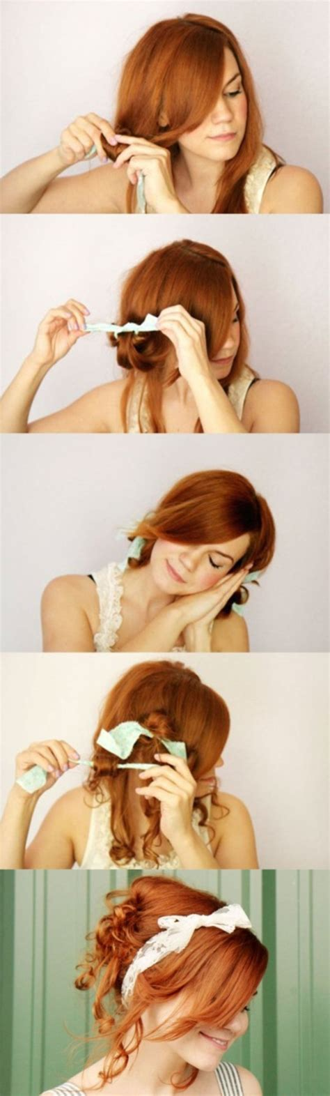 diy overnight hairstyles 101 easy diy hairstyles for medium and long hair to snatch