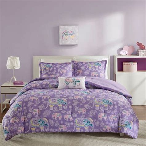 full xl comforter sets lavender purple elephant bedding for girls twin xl full