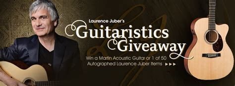 Free Guitar Giveaway - laurence juber giveaway win a martin guitar for free