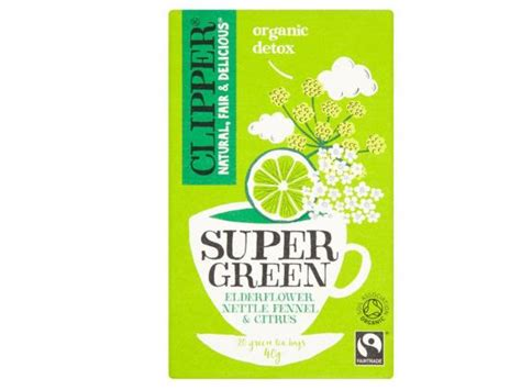 Clipper Detox Tea Review by 10 Best Detox Teas The Independent