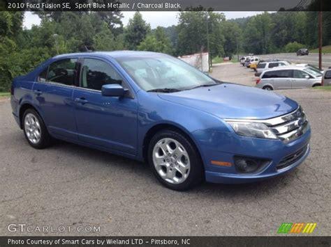 Ford Fusion Se Sport by 2010 Ford Fusion Se Sport Blue Metallic
