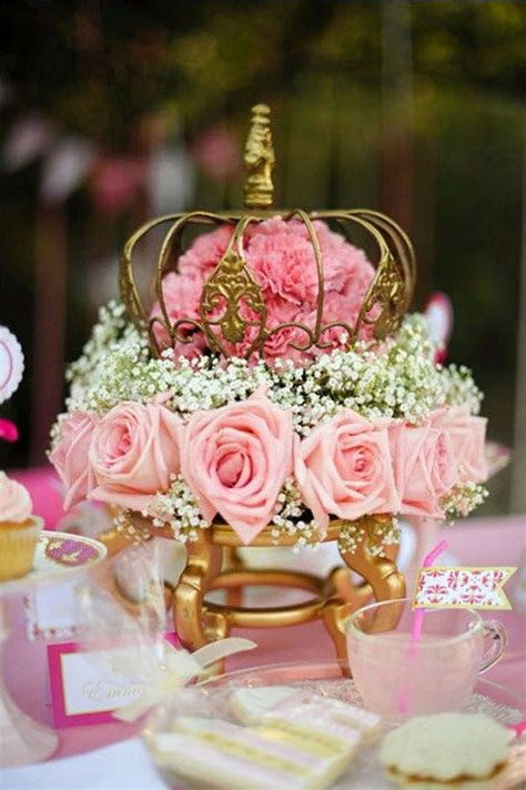 princess themed quinceanera decorations pink princess tea party styled shoot dining room table