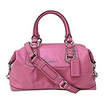 Tas Coach Original Coach Large Pink Satchel authentic coach leather satchel handbag watermelon pink 15445 handbags