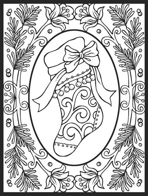 stained glass christmas coloring pages christmas cheer stained glass coloring book dover