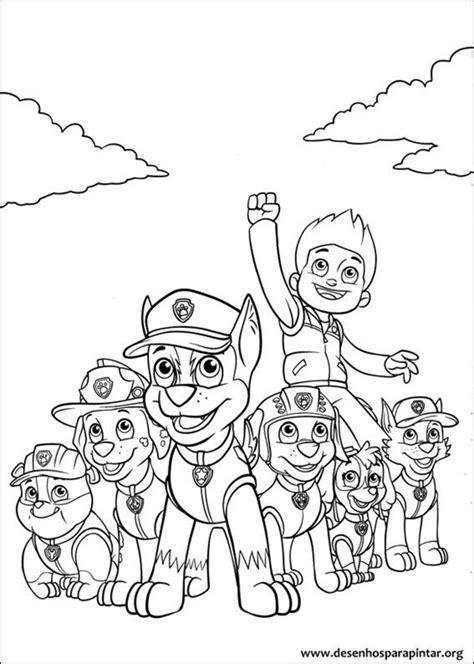 desenhos para colorir imagens para colorir patrulha canina pagina desenho de patrulha canina para colorir desenho de