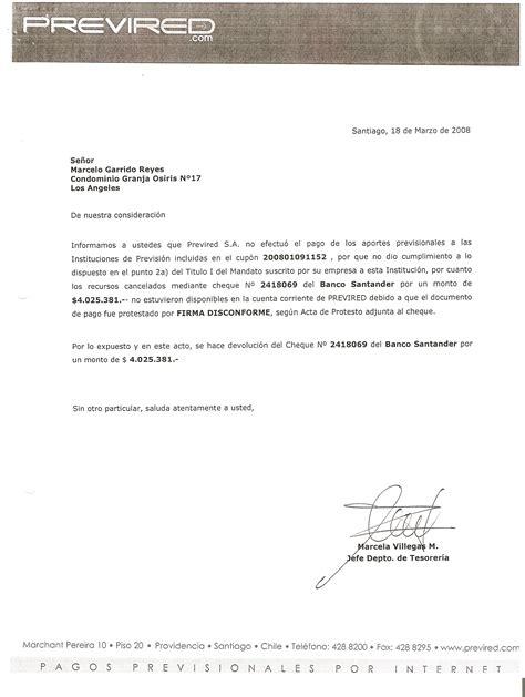 Carta De Cancelacion De Un Cheque Banco Santander Cierre De Cuenta Corriente Reclamos Cl