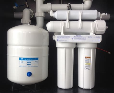 Undersink Ro undersink osmosis 4 stage pentec kit bore water upgraded the water filter shop
