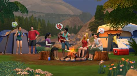 Cabin Tents by The Sims 4 Outdoor Retreat Game Pack Sims Online