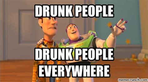 Drunk At Work Meme - drunk people