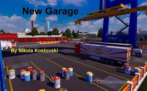 New Garage Garage Truck Simulator 2 Mods Ets2downloads