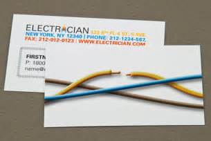 electrician business card with cut wire electrician busine flickr