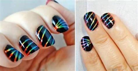 imagenes de uñas decoradas solo con esmalte 101 sensacionales ideas de u 241 as decoradas