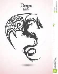 dragon tattoo stock photo image 31210290
