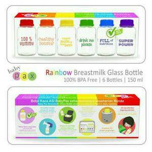 Babypax Botol Asi Kaca 150 Ml anak asi hebat