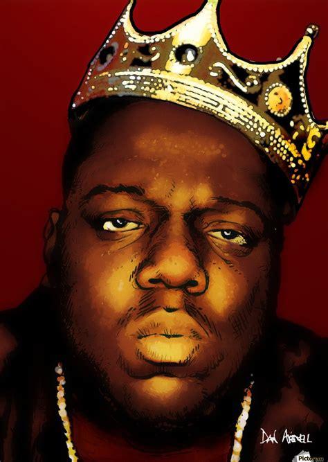 New Biggie by Biggie Smalls Aka Notorious B I G Dan Avenell Canvas
