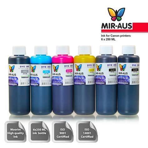 6x100ml couleurs recharge colorants pigments d encre pour