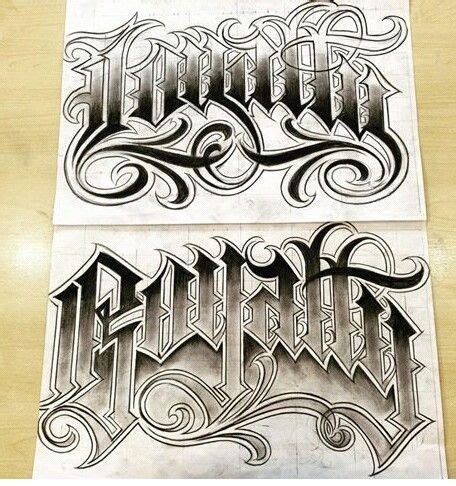 chicano tattoo lettering design chicano lettering art pinterest chicano lettering