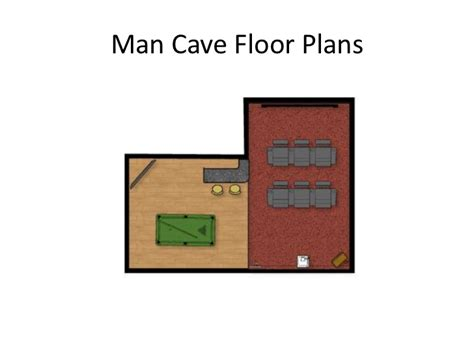 man cave floor plans man cave designs