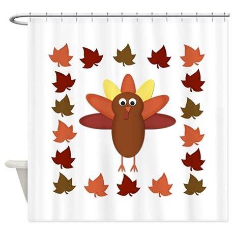 thanksgiving turkey shower curtain by beachbumming