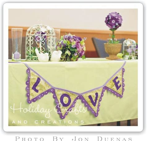 Wedding Banners Diy by Diy Wedding Decorations Easy To Sew Banner