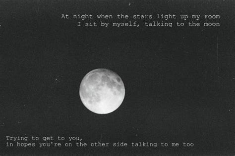 light up my room lyrics talking to the moon