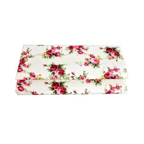 Clutch Motif Flowers cotton flower pattern clutch luxury wedding invitations handmade invitations wedding