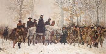 valley forge washington s frost bitten army encampment