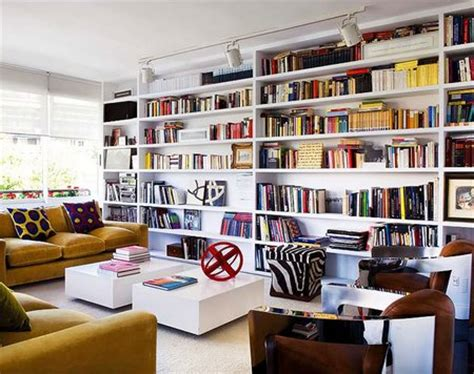 Wall To Wall Bookshelves Building Wall To Wall Bookcases Www Nicespace Me