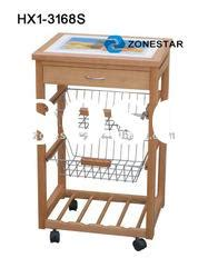 Kitchen Mart Seller 2012 Sell Pc 4 Wheels Aluminum Trolley For Sale