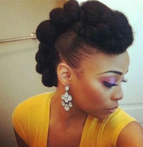 mohawks using bob marley hair mohawk with marley hair natural queenz pinterest