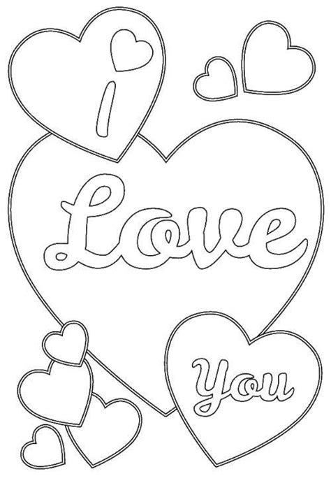 I Love You Coloring Pages Cute Coloringstar I You And Coloring Pages