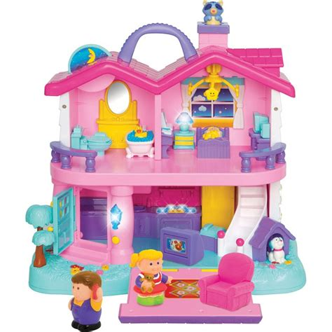 Light And Sound Toddler First Dollhouse Educational Toys Planet
