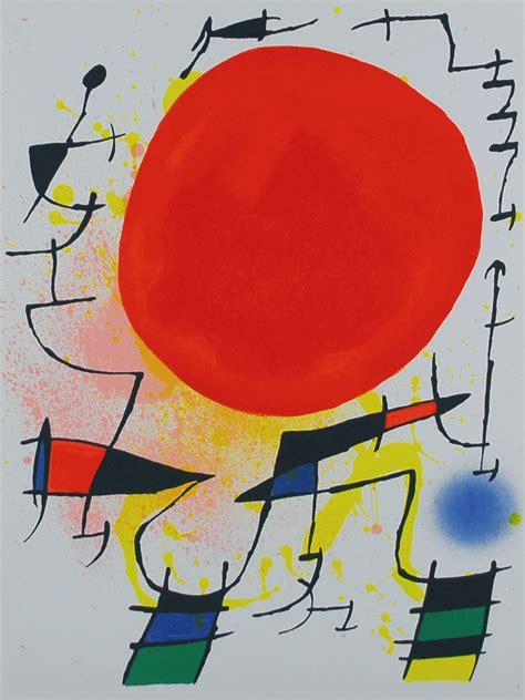 sole rosso testo sole rosso le soleil 1967 joan miro