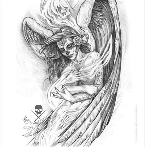 angel tattoos and designs page 97 93 best images about sullen art collective on pinterest